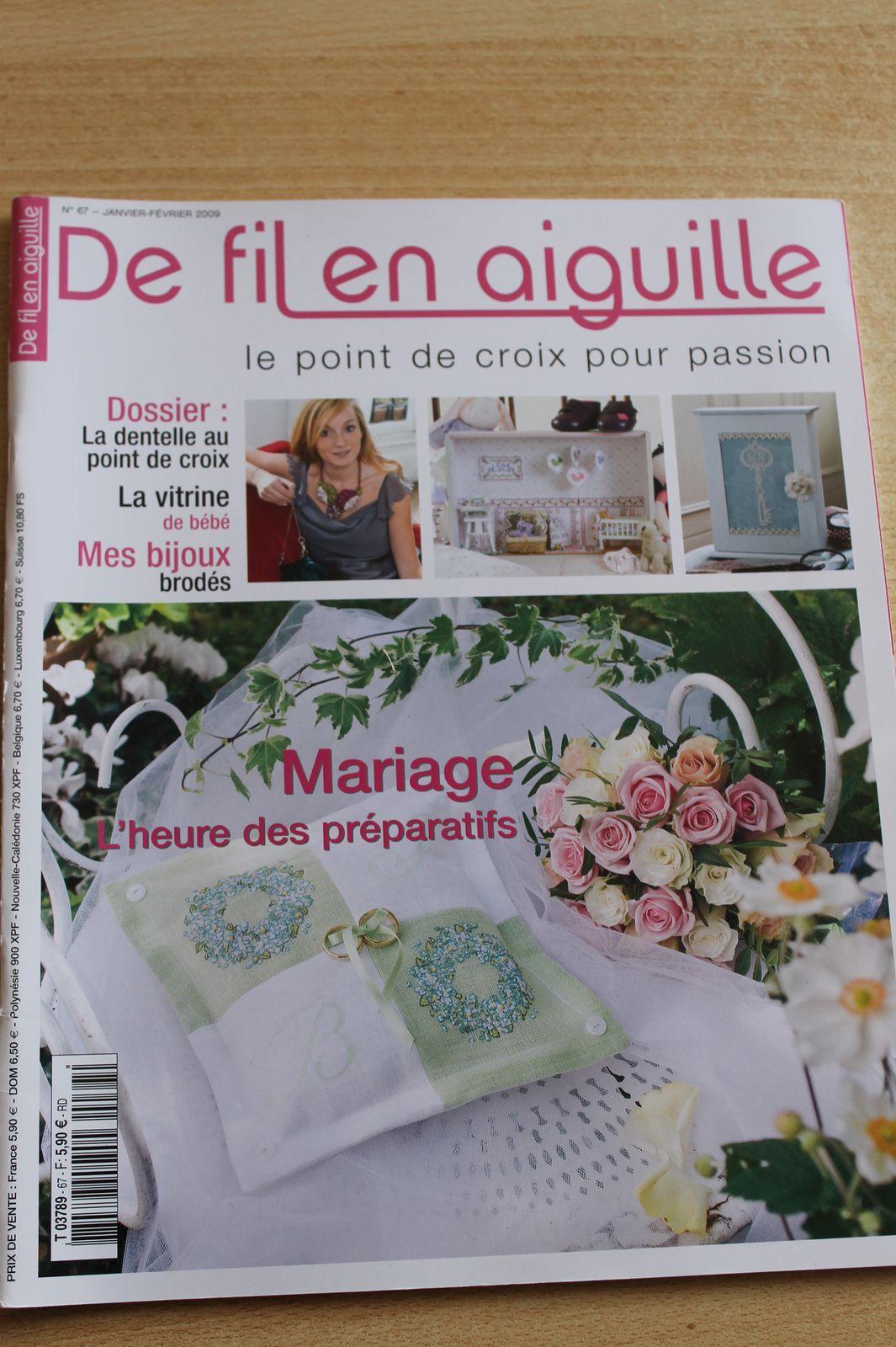 De fil en aiguille n°67 janvier-février 2009