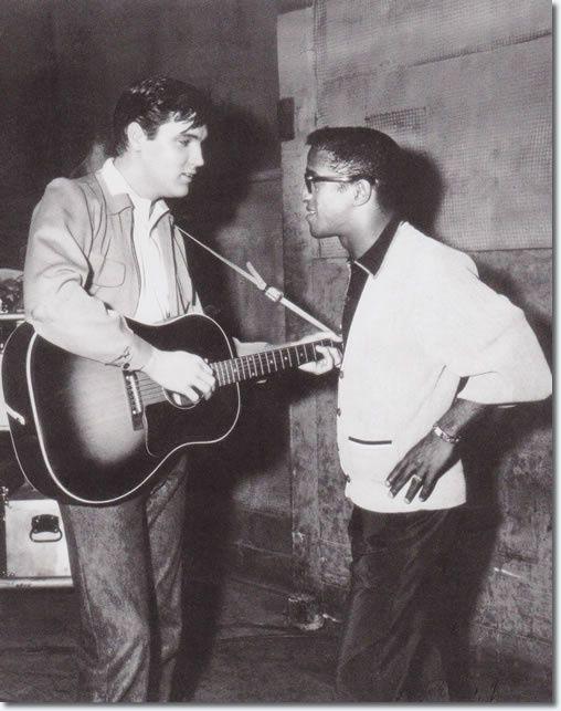 Elvis Presley et Sammy Davis-king créole