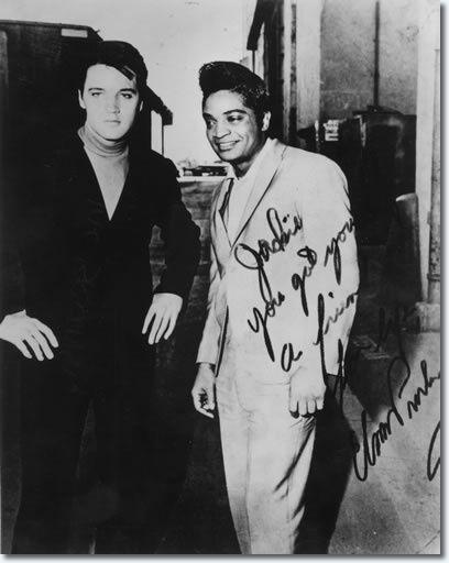 Elvis Presley et Jackie Wilson en 1966