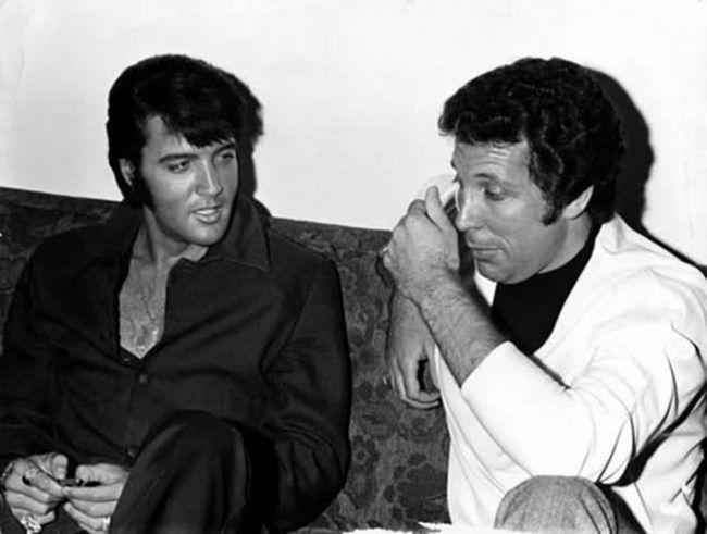 Elvis Presley et Tom Jones