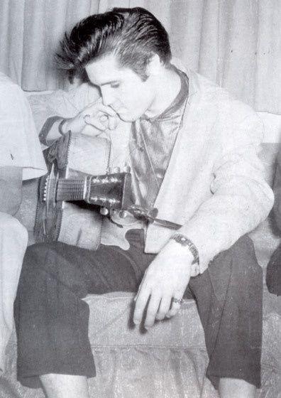 Photos d'Elvis Presley jeune