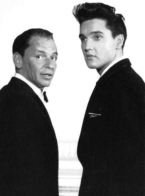 Elvis Presley et Franck Sinatra