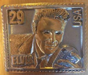 Rare timble boucle ceinture Elvis Presley