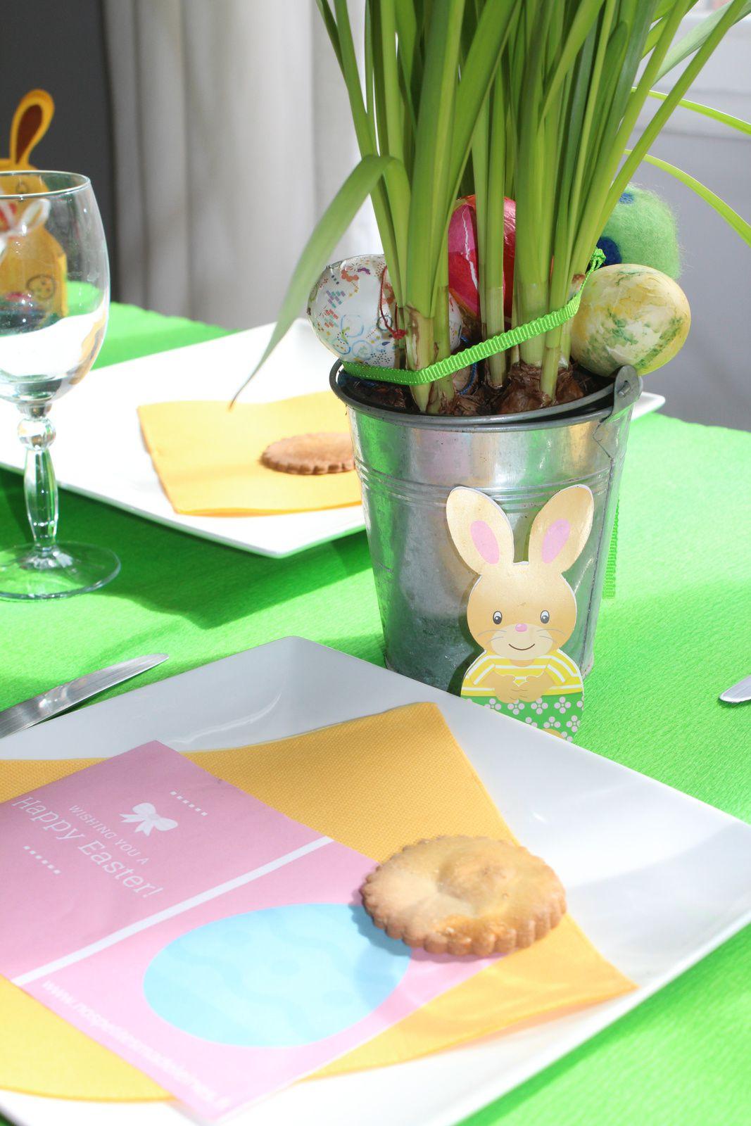 Pâques en famille (recette dessert de Pâques à l'intérieur...)