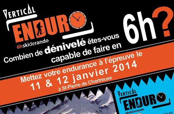 Vertical Enduro 6 H – 12 janvier.