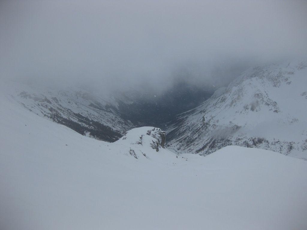Pic Blanc - Col du Galibier - 30 novembre.