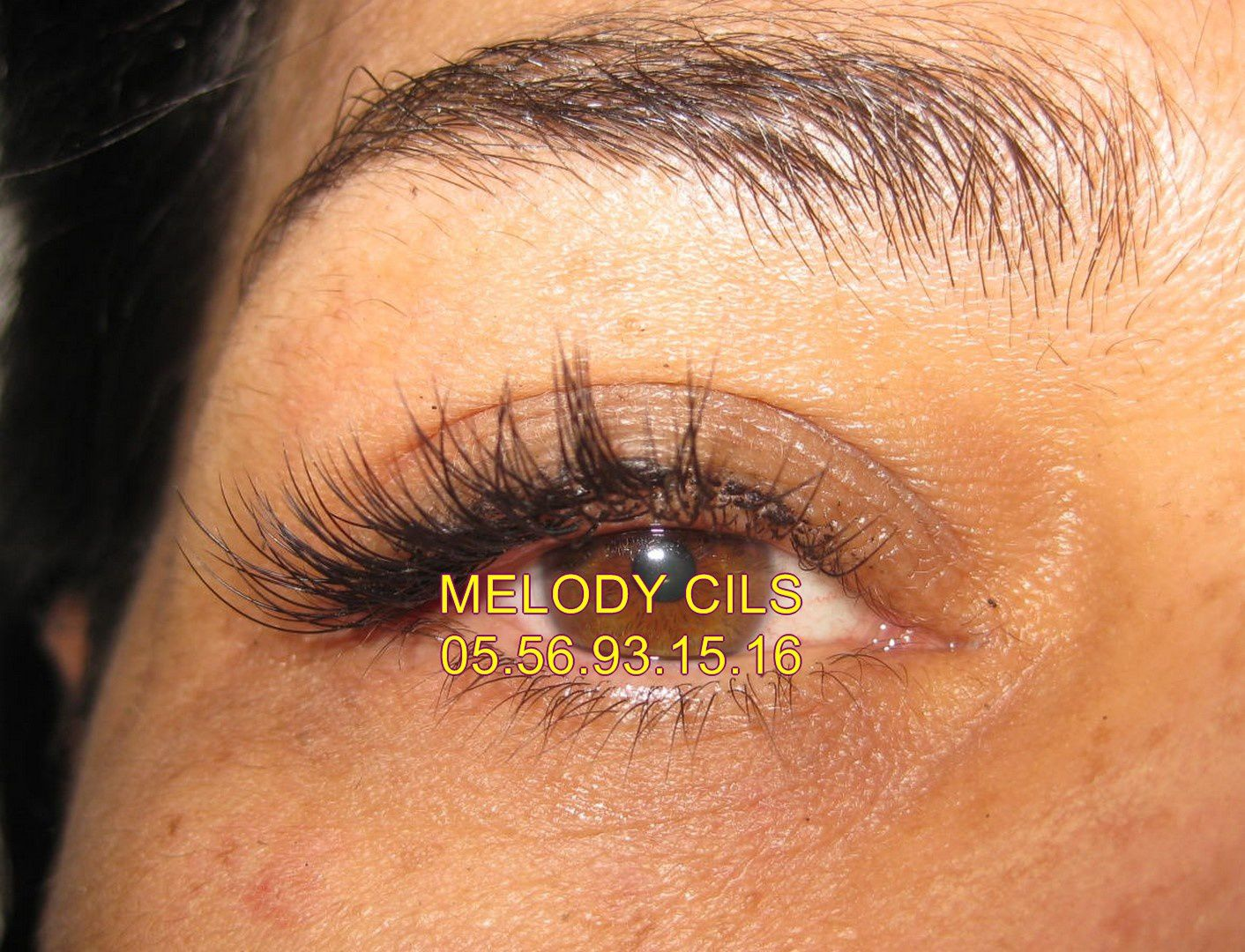 EXTENSION DE CILS MELODY BORDEAUX