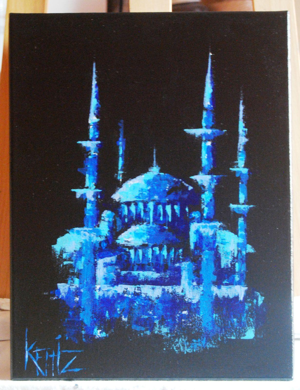 Tableaux peintures mosquées et déco cuisine (islam deco) - Je ...