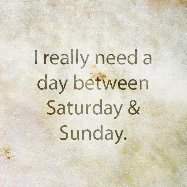 Travailler le dimanche? Alors que...