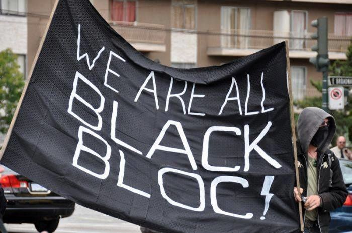 We are all black bloc !