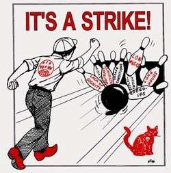 It's a strike !