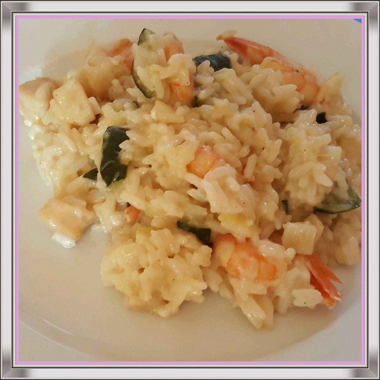 Riz saveur de la mer façon risotto (Cookeo)