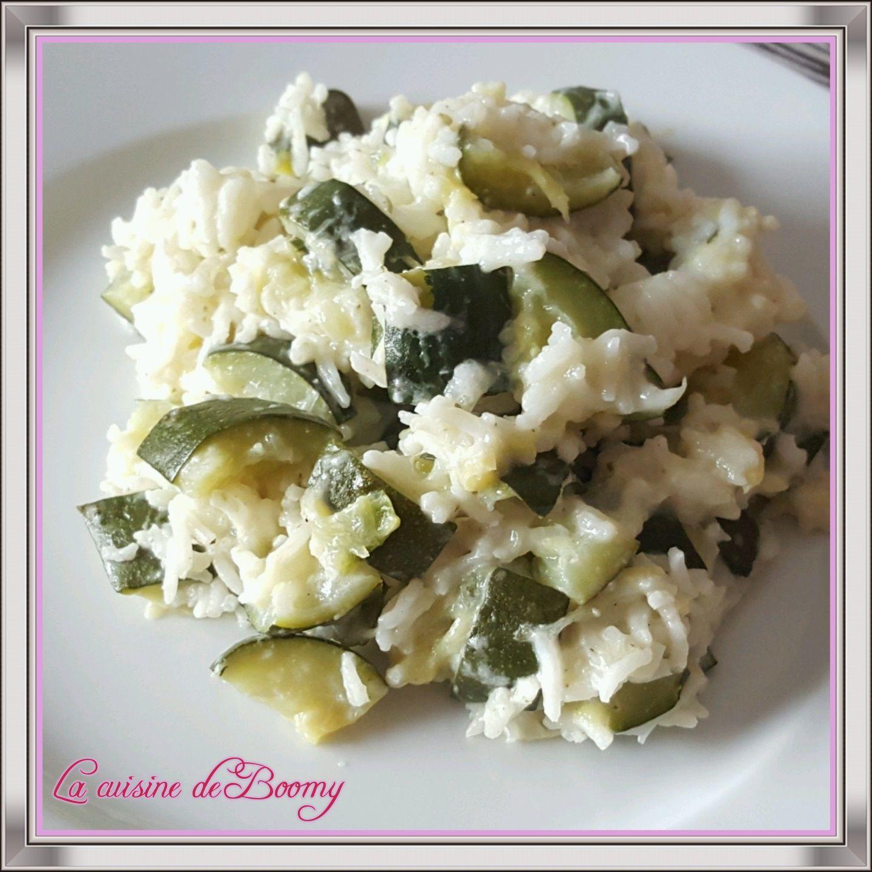 Recette Avec Boursin Cuisine | Courgettes Et Riz Au Boursin Cookeo La Cuisine De Boomy
