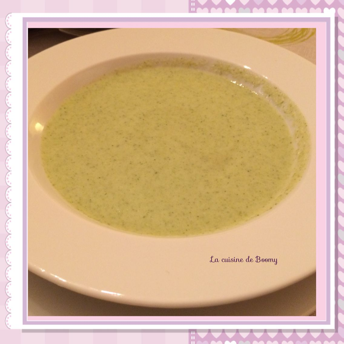 Velouté de brocolis (Cook'in)