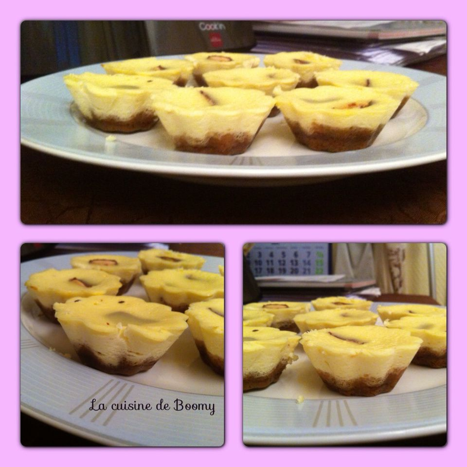 Mini cheese-cake au nutella