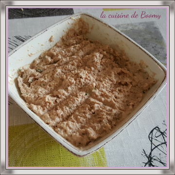 Rillettes aux 2 saumons  (Cook'in)