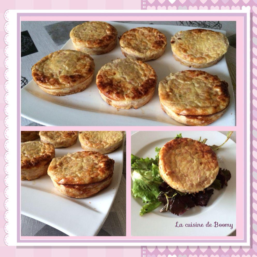 Tartelettes jambon fromage