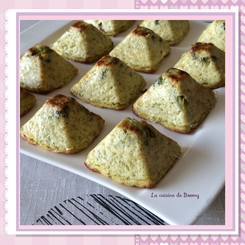 Pyramides aux brocolis (Cook'in)