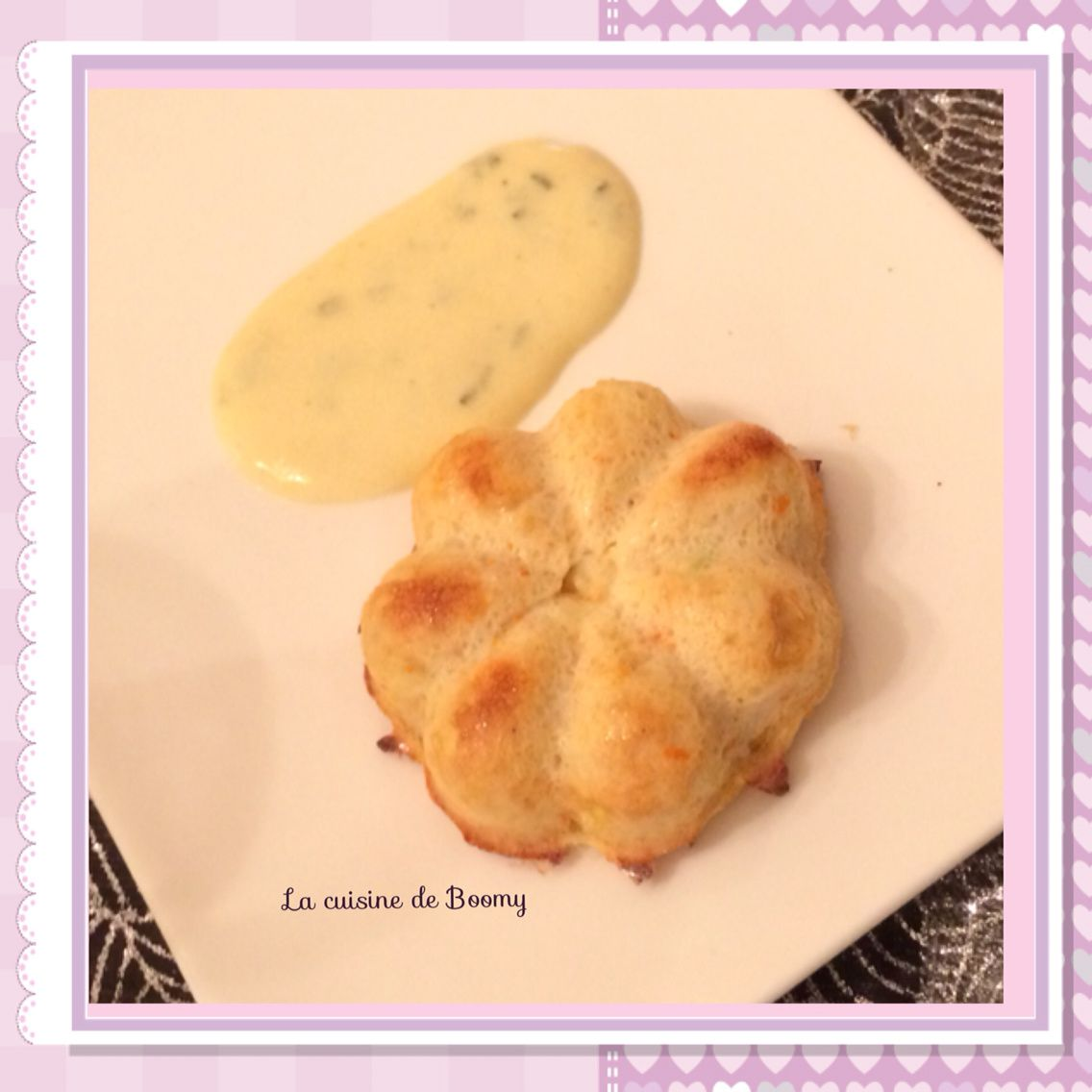 Délice de crabe, sauce citronnée (Cook'in)