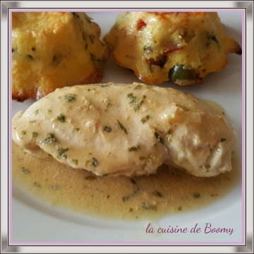 Filet de poulet sauce à l'estragon WW