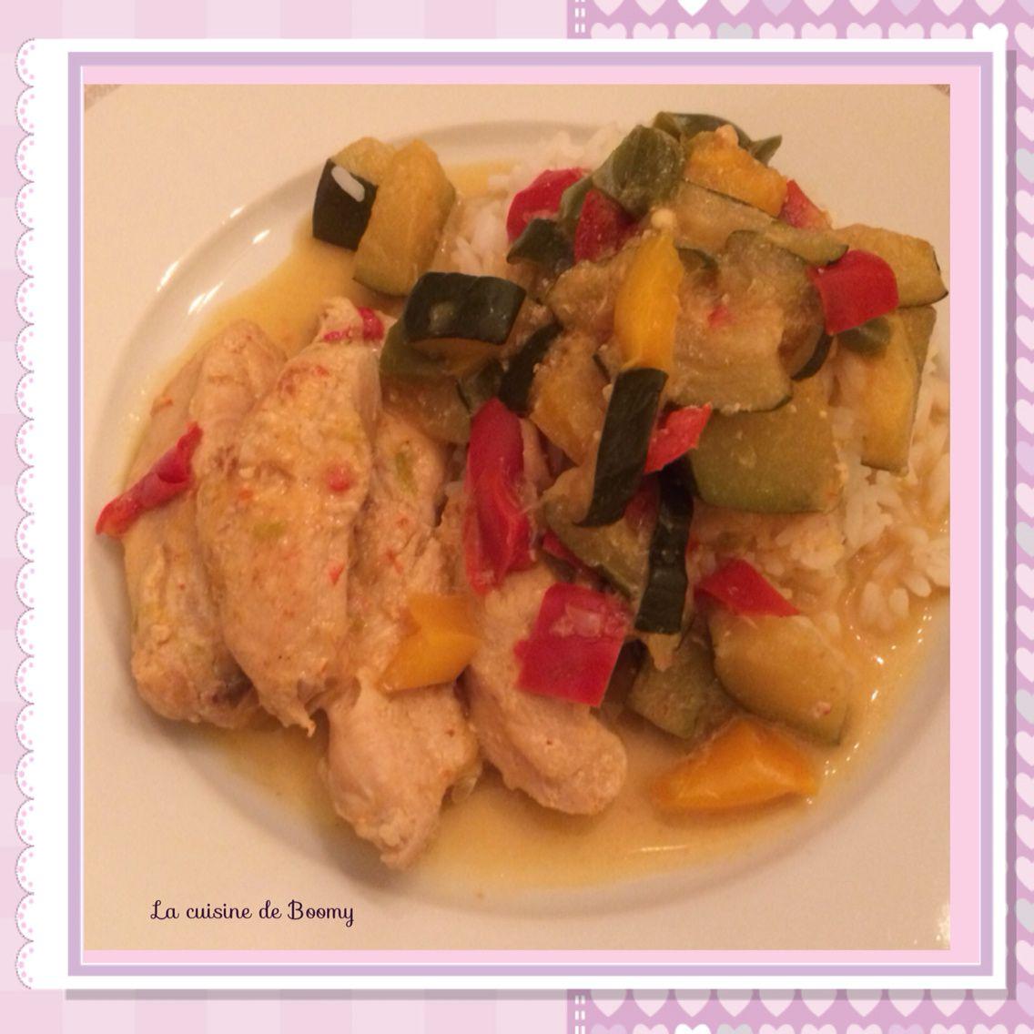 Aiguillettes De Poulet Aux Legumes Cookeo La Cuisine De Boomy