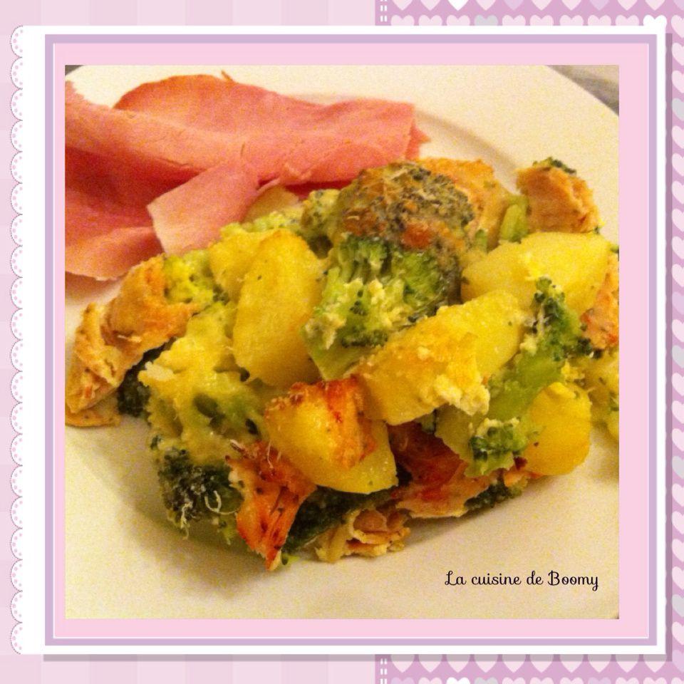 Gratin de brocolis saveur provençale