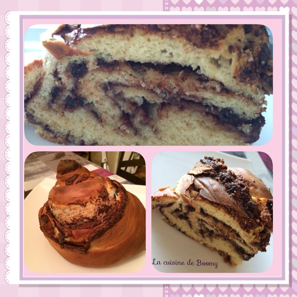 Brioche tourbillon au Nutella