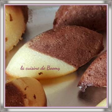 Minis marbrés au Nutella