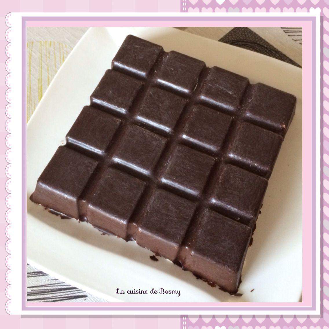 Croustifondant aux 2 chocolats