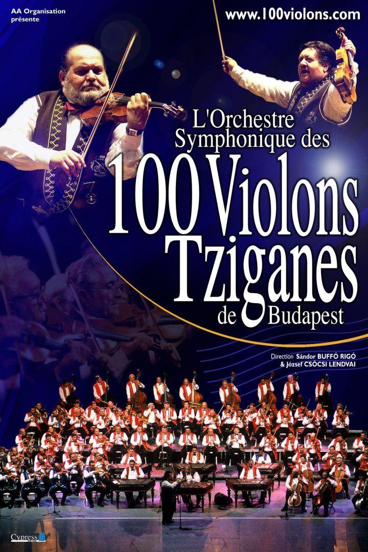 100 violons tziganes de Budapest
