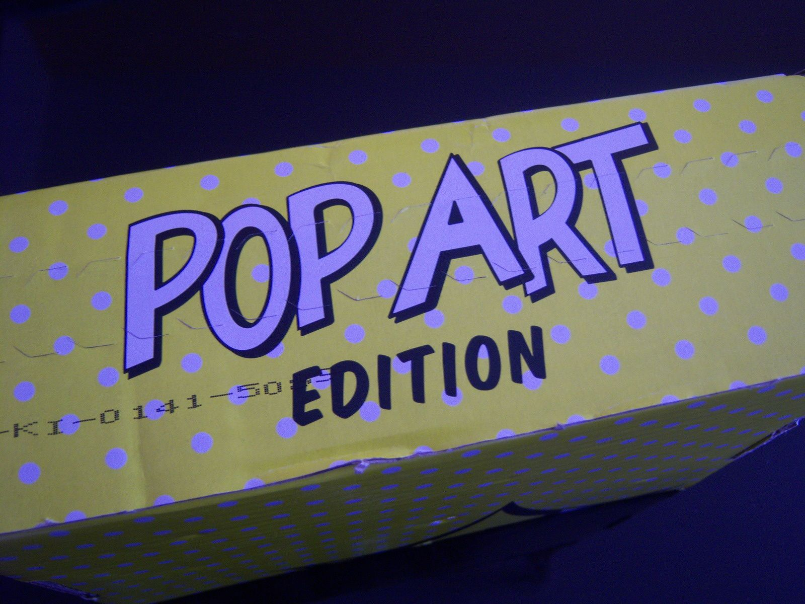 GLOSSYBOX POP ART - je valide