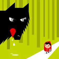 Qui a peur du grand méchant loup, c'est pas moi, c'est pas moi ... c'est surtout pas moi !