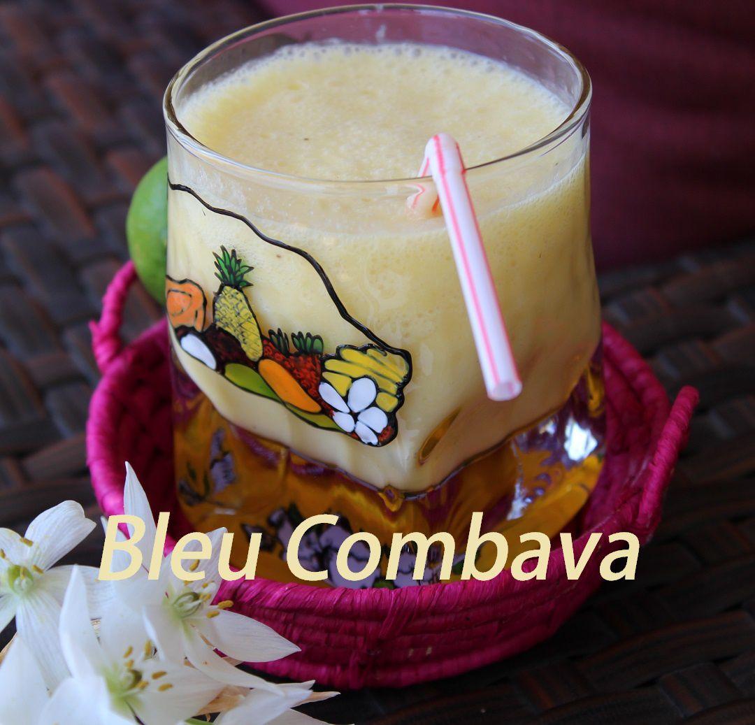 Smoothie Ananas Coco Banane Cardamome