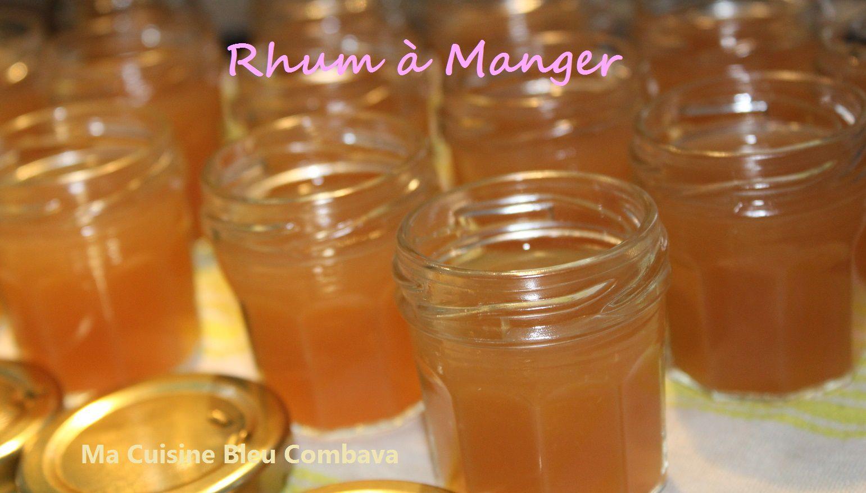 &quot&#x3B;Rhum à Manger&quot&#x3B; aux Letchis avec du Rhum Arrangé!
