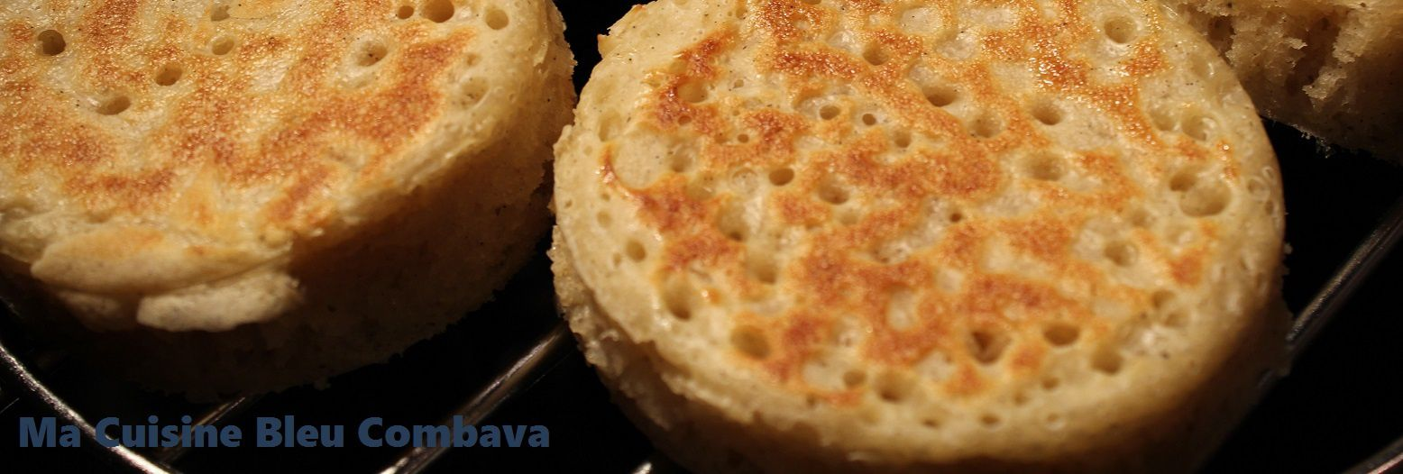 Crumpets, So British mais...à la Vanille Bourbon!