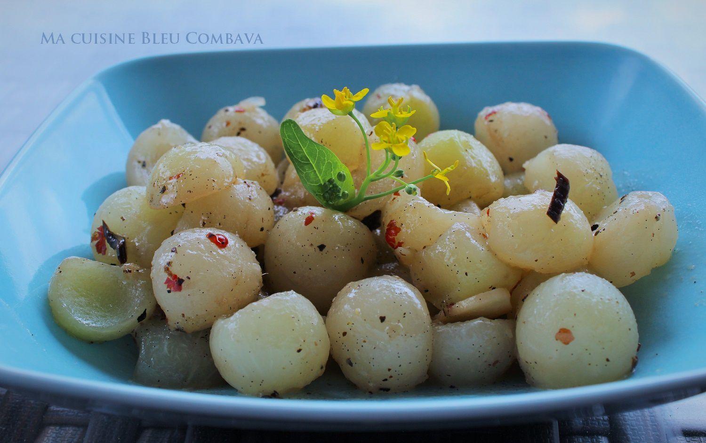 Chouchou glac la vanille bleue et baies roses ma - Ma cuisine bleue ...