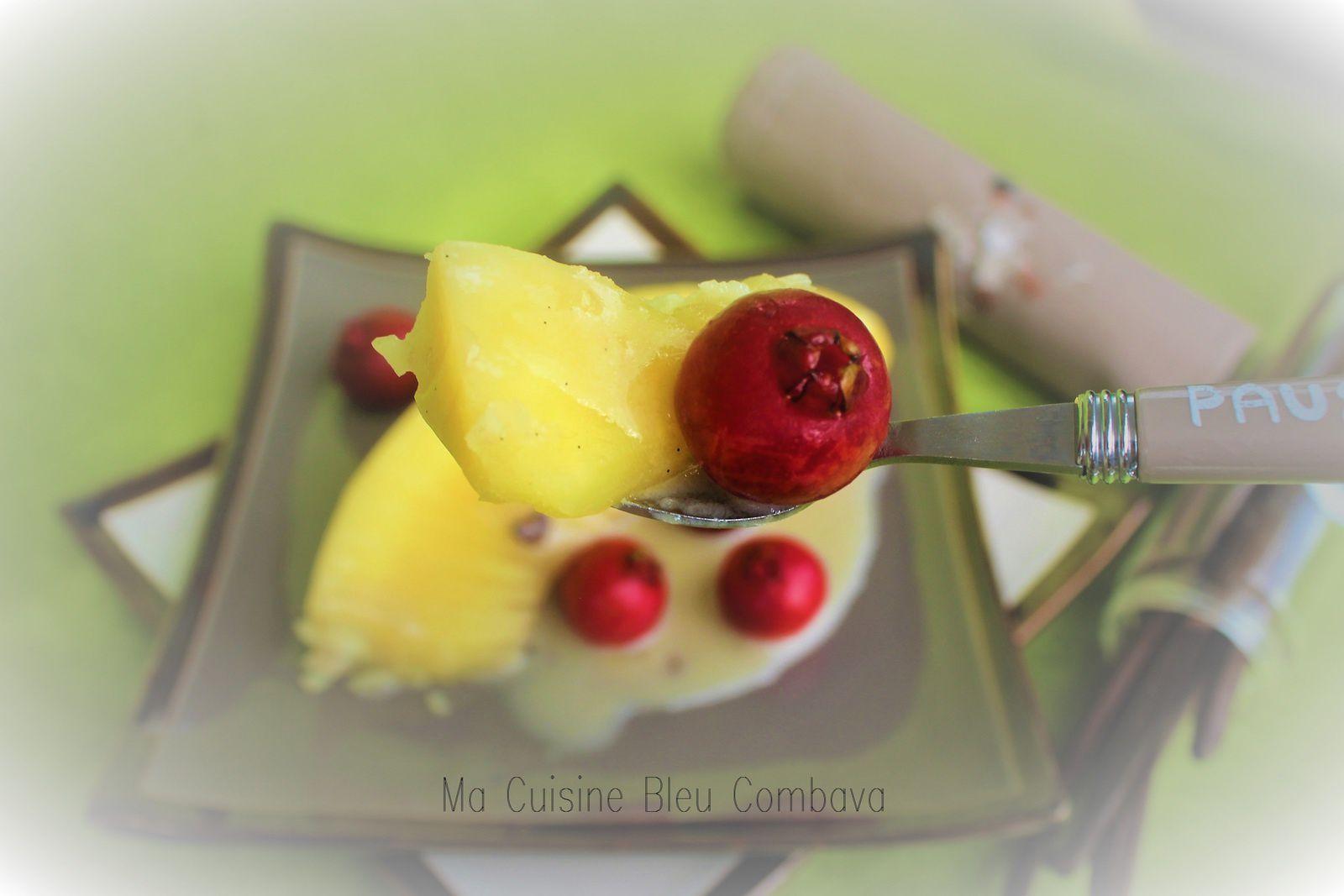 Fruit à Pain Vanillé au Sucre et sa Crème de Coco