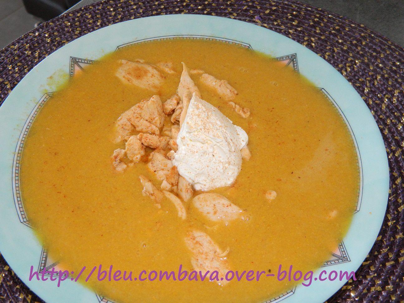 Soupe de Maïs au Citron vert et au Poulet (Argentine)