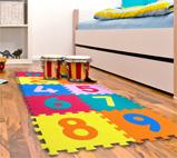 piso para juegos infantiles