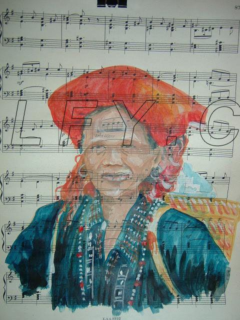 portrait H'mong