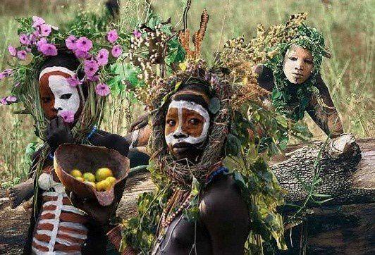 Décorations magnifiques des peuples de l'OmoD