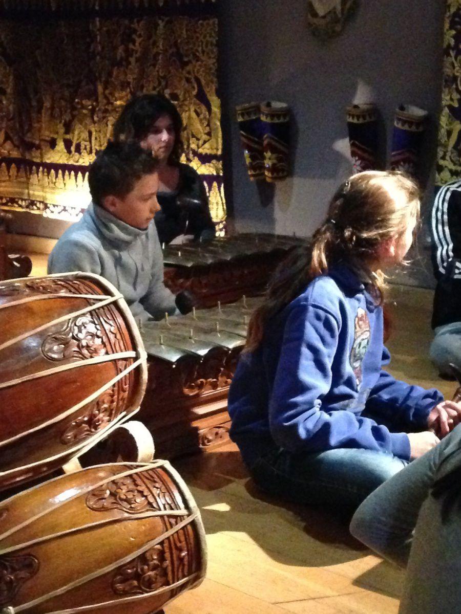 MUSEE DE  LA MUSIQUE DE CERET - Sortie avec les élèves