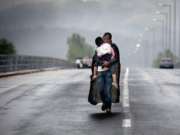 Yannis Behrakis, Grèce, septembre 2015 © Yannis Behrakis/ Reuters