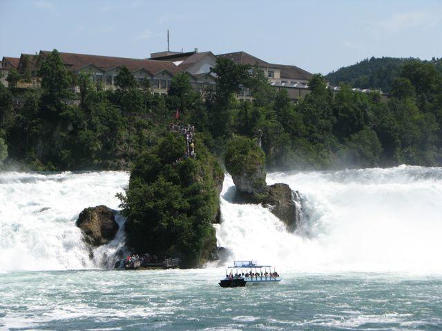 Suisse - Neuhausen - Chutes du Rhin