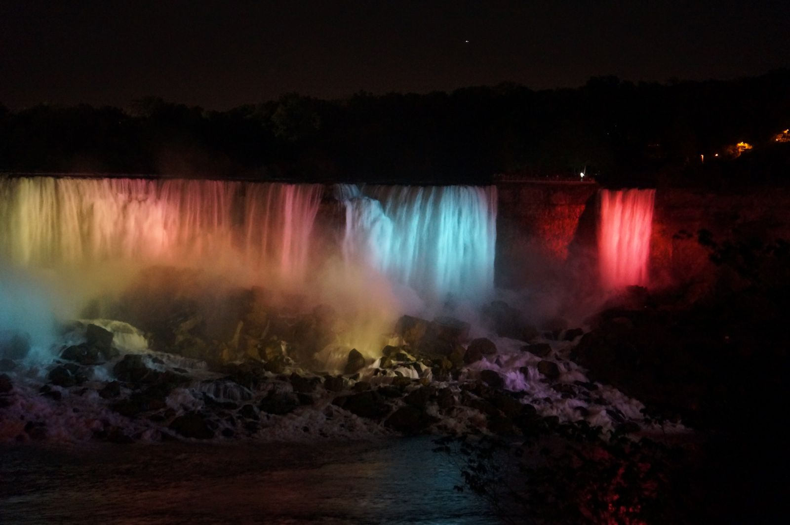 Canada - Chutes du Niagara - samedi 14 septembre