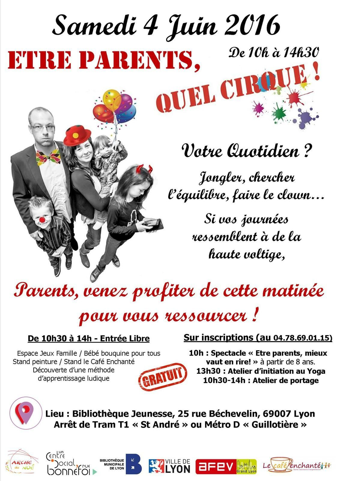 ETRE PARENTS, QUEL CIRQUE !!