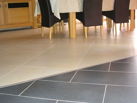 for Transition entre 2 carrelages