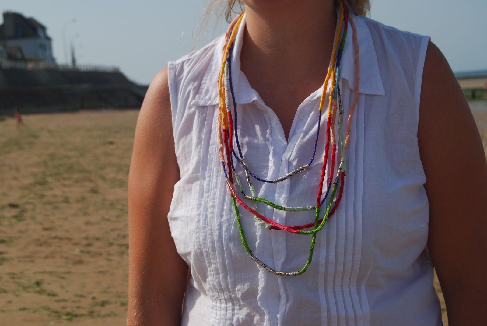 Grand défi créatif : Le collier Cap Vert