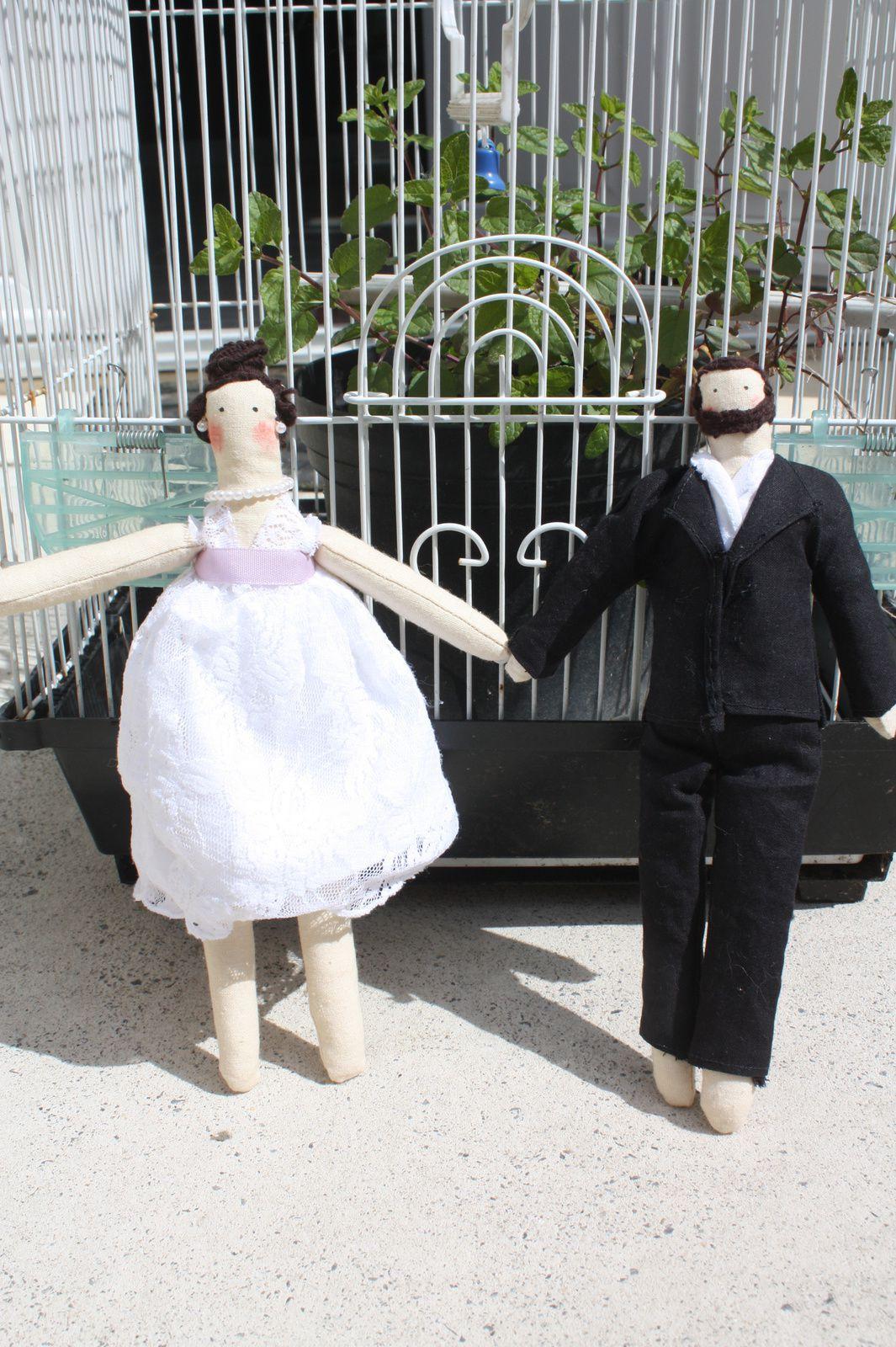 """Les mariés Tilda se sont dit """"oui""""... By La Matelote"""