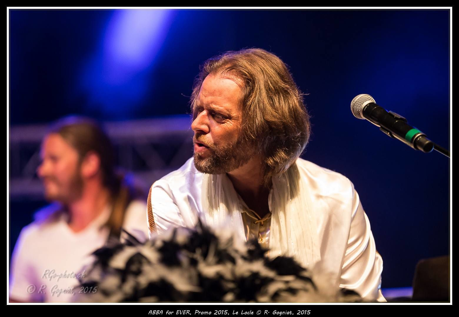 ABBA FOR EVER FESTIVAL PROMO LE LOCLE SUISSE 04/07/15